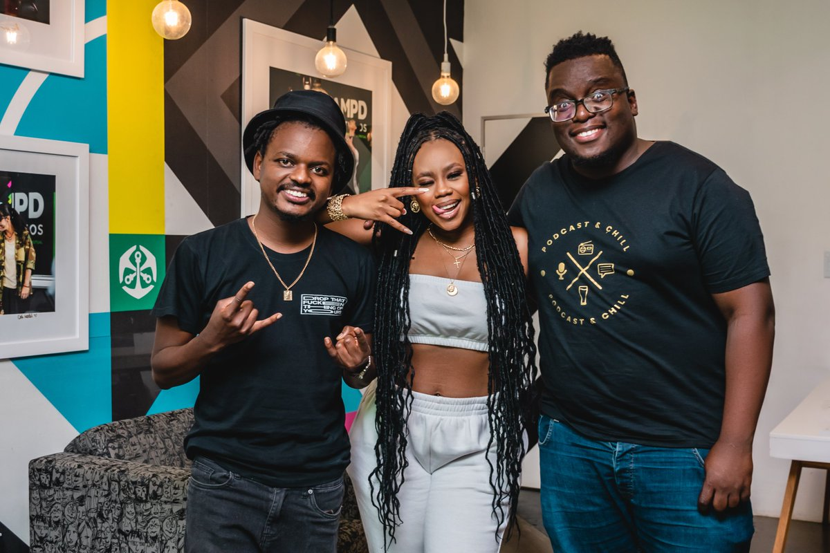 THE FIRST CELEBRITY INTERVIEW with the lovely @BontleModiselle ❗❗🔥🔥  📺 Dropping Tomorrow 📻  @MacGUnleashed @Solphendukaa   #PodcastandChillWithMacG https://t.co/YVwzbWHRbg