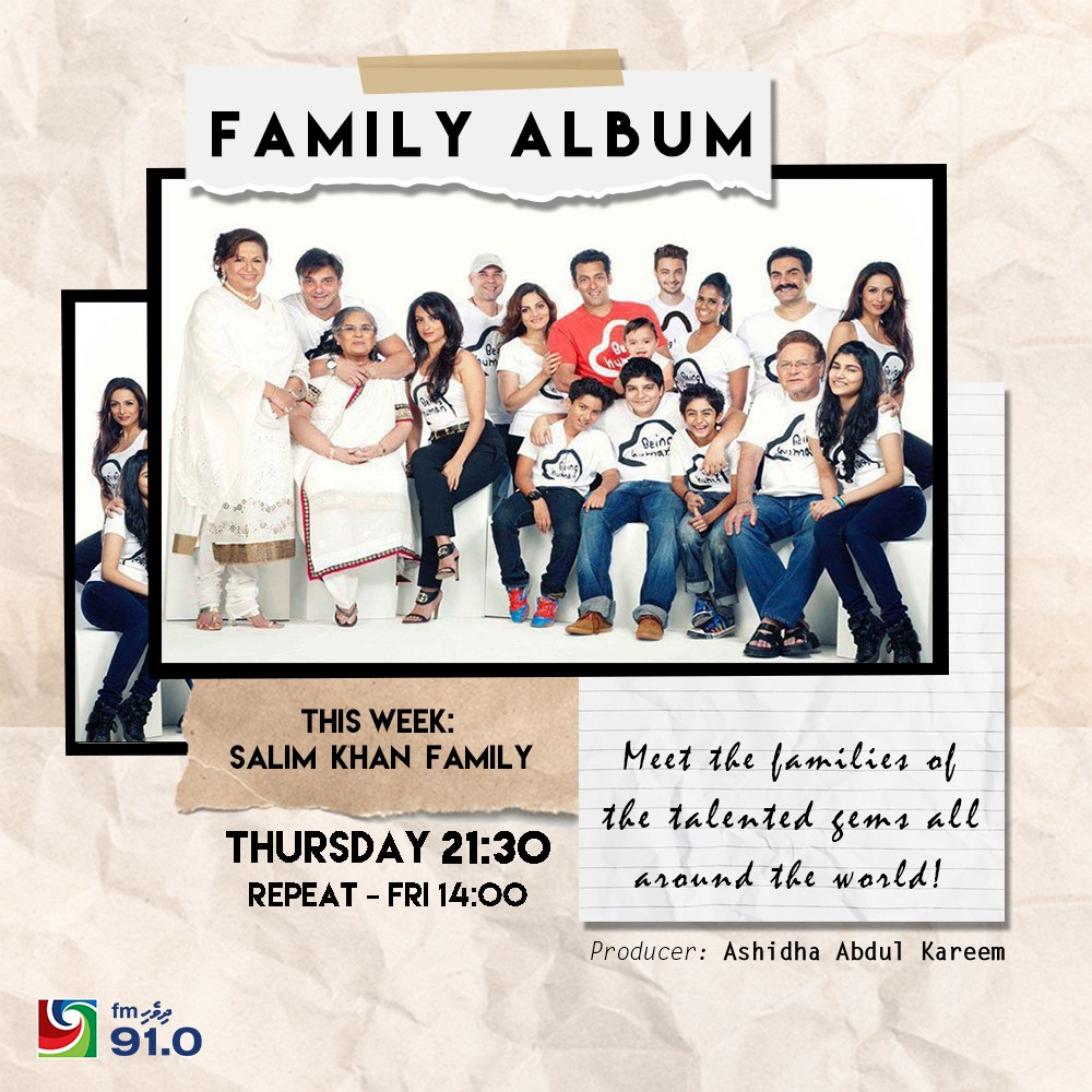Time to open another #FamilyAlbum w/ RJ Ashidha Tune in to know these people and more! ,👇😁🎧 https://t.co/jLpsRHUJc5