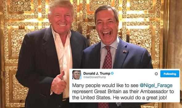 Itchy bum time? @Nigel_Farage  #Trump #Pardons #SteveBannon #nigelfarage #Tory #Brexit #FBI
