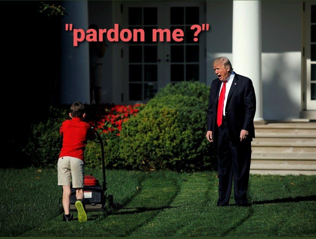 #ByeByeTrump #Pardons #ByeDon