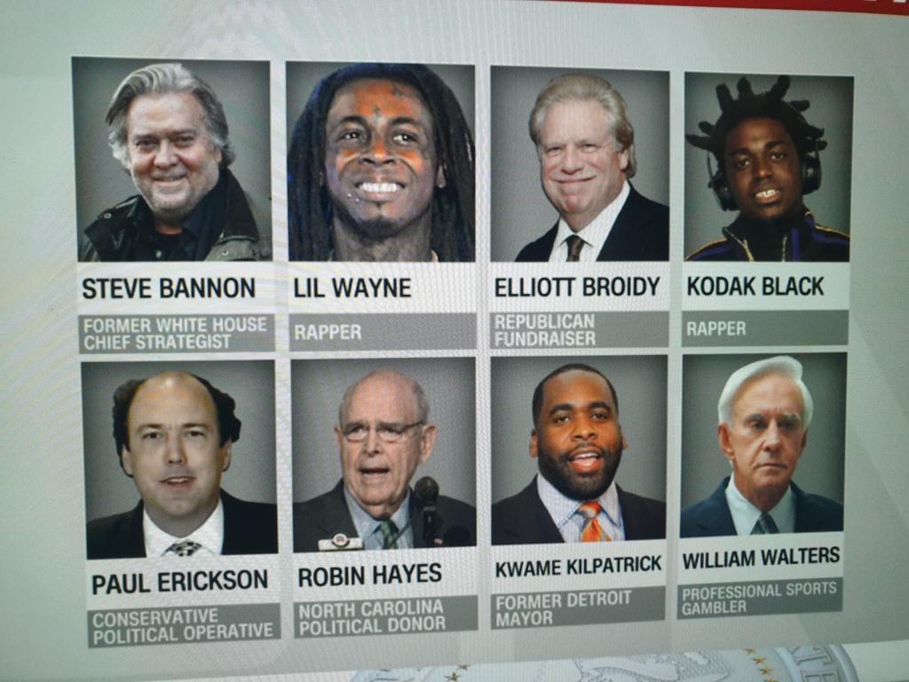 😳 what a line-up #Pardons