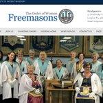Image for the Tweet beginning: The Order of Women Freemasons
