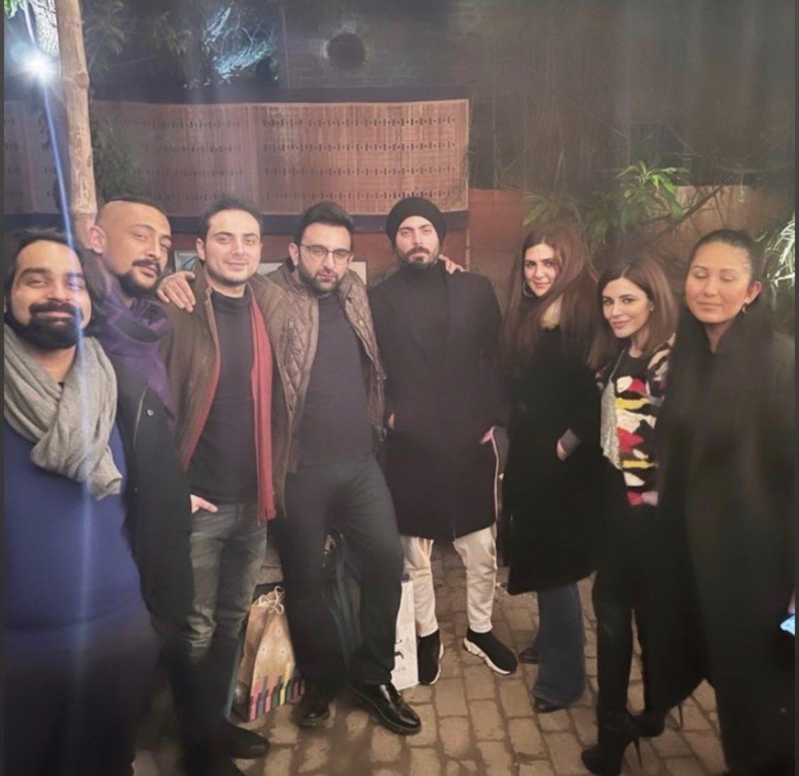 The Legend of Maula Jatt team gets together at Ammara Hikmat's place for hubby Asad Khan's birthday 🥳🎉 #FawadKhan #AmmaraHikmat #BilalLashari #ZaraShahjahan #AsadJKhan #FarisShafi