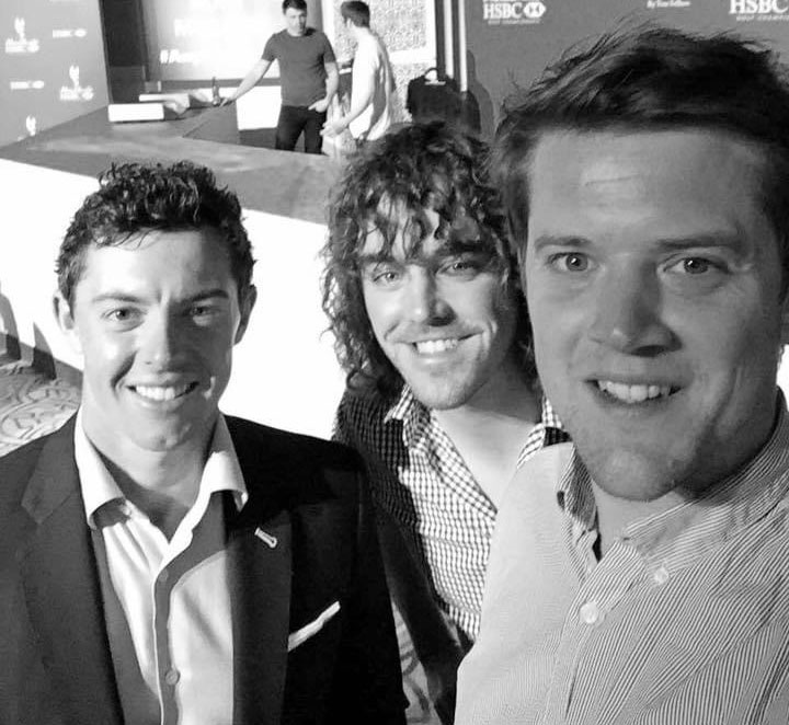 5 years ago today according to facebook...  Casually hanging out at the #ADGolfChamps with @yourgolftravel & the other Rory. 😂
