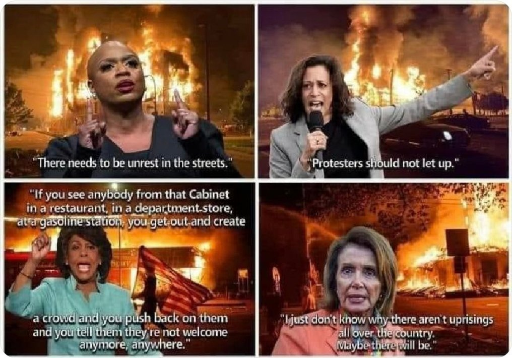 Reminder to @SpeakerPelosi 👇  These statements are incitement of political violence. If you need to see more, just watch @CNN @MSNBC coverage of the 275+ #Antifa & #BlackLivesMatter riots that are still happening.  #SayHerName #AshliBabbitt