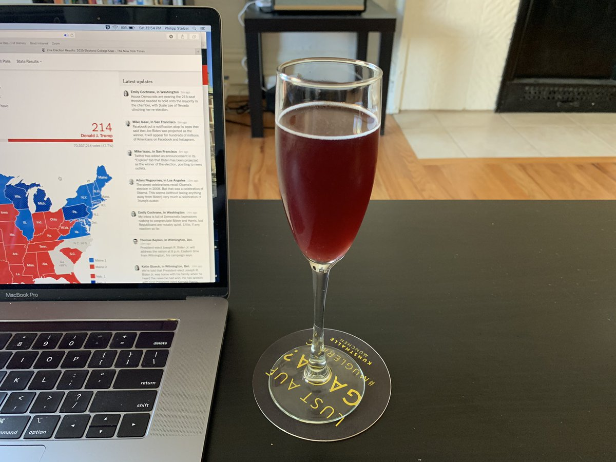The Kamala Harris: 2/3 prosecco, 1/3 grape juice. Something sparkling seemed appropriate. https://t.co/IBjJCLsxyL