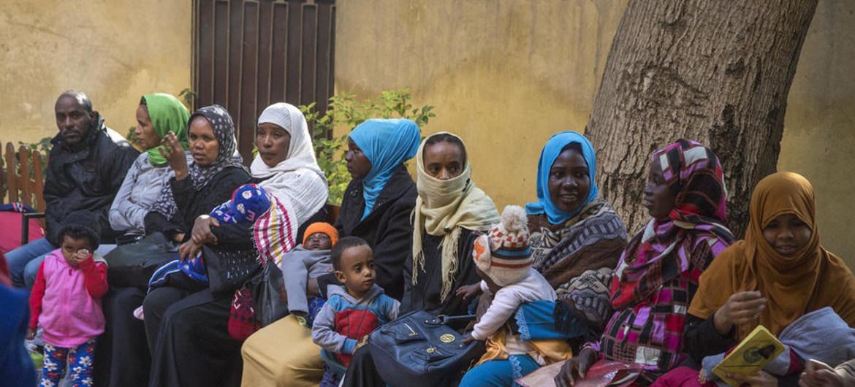 التقرير اليومي لدخول اللاجئين الإثيوبيين إلى المعسكرات داخل الأراضي السودانية   #سونا #السودان