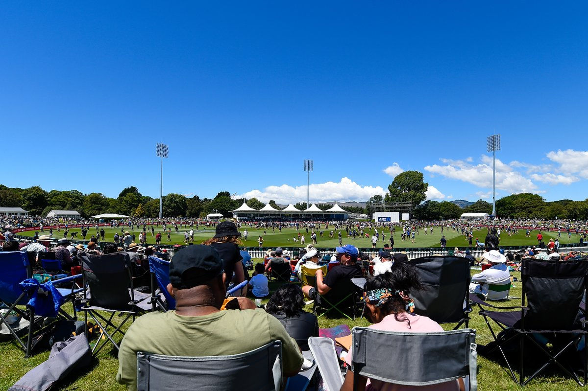 Full house! Thank you Canterbury and Otago! No more tickets are available for the BLACKCAPS v @CricketAus series opener under lights at Hagley Oval on Feb 22, and there are very limited tickets available for the second match at University of Otago Oval, on Feb 25 #NZvAUS