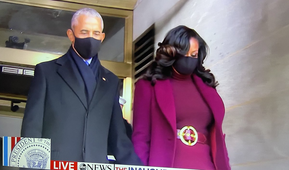 Replying to @DangeRussWilson: The Obama's walked in there so fly...  @BarackObama & @MichelleObama