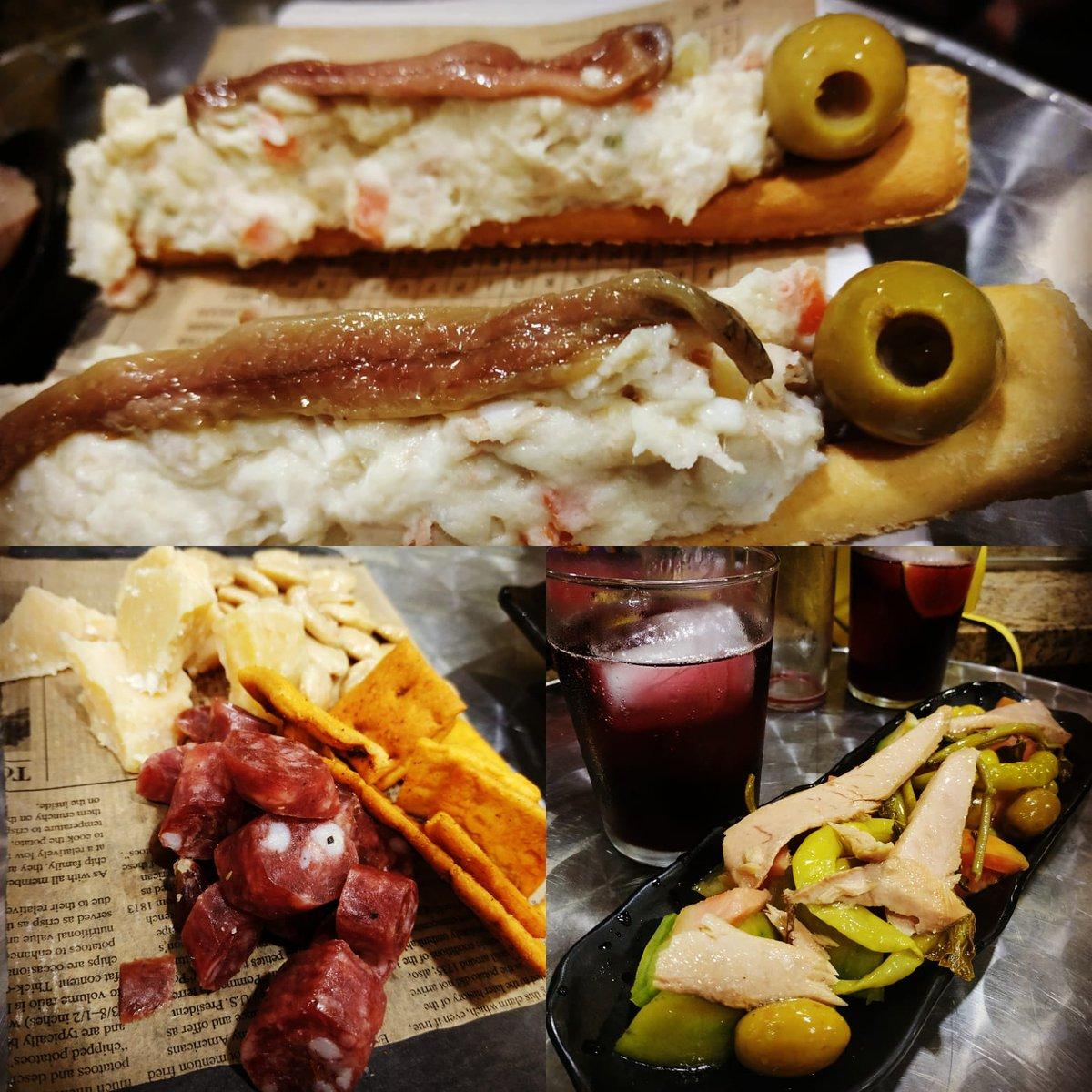 Ya saben señores, a cenar temprano. No dejen que cierre su #bar favorito que cuando acabe todo esto ya será tarde.  #Murcia #foodlover #dietasana #food #diet #teamwork #foodphotography #foodporn