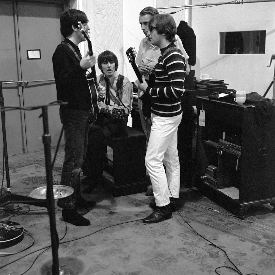 """I remember being pretty nervous on most occasions in the recording studio, but very excited; a nervous excitement. It was fantastic to be in Abbey Road."" - Paul"