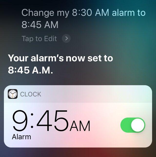 Thanks Siri, very cool