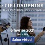 Image for the Tweet beginning: [JPO VIRTUELLE]📆Devenir #journaliste, pourquoi pas