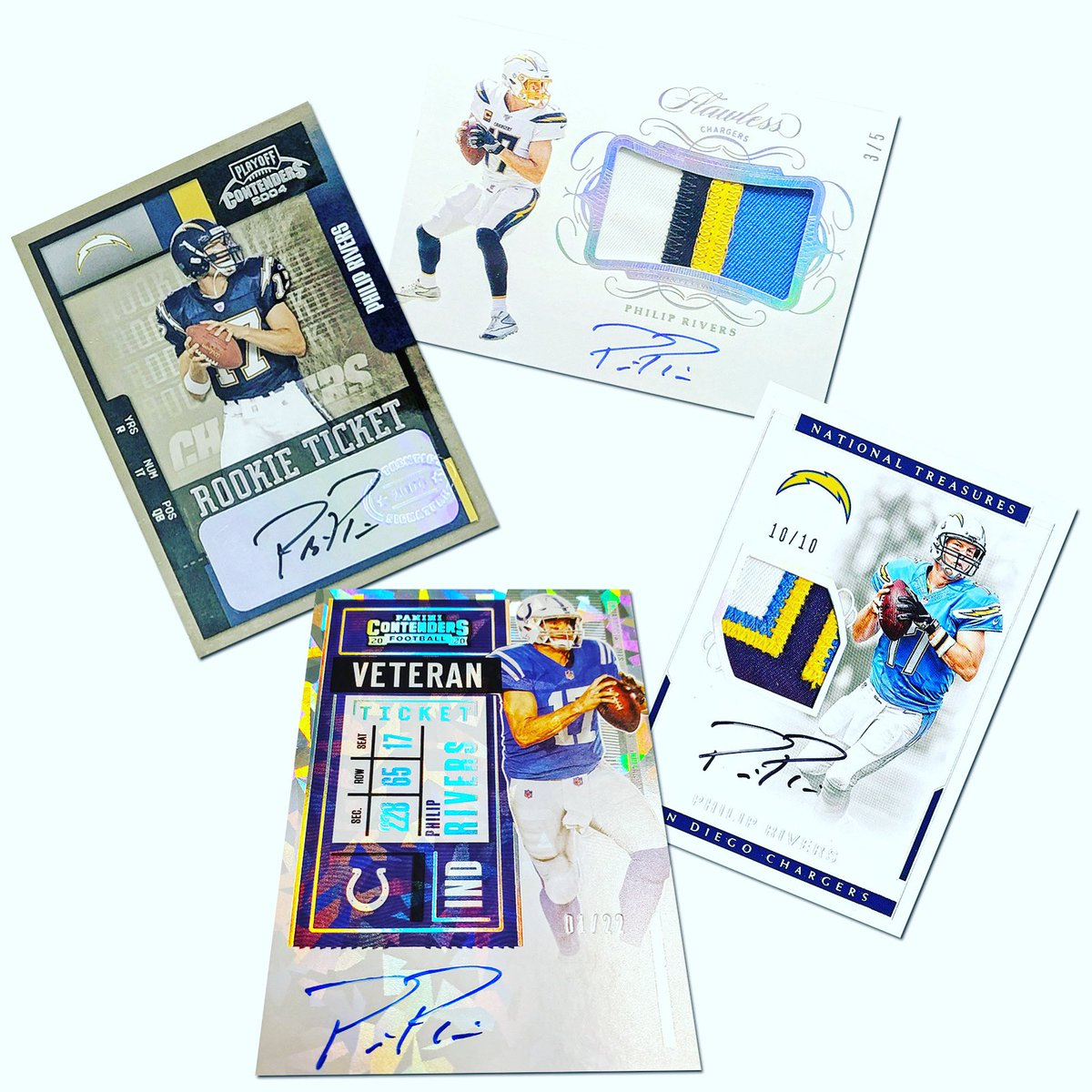 17 seasons. 63,440 passing yards. 421 touchdown passes. Too many memories to count. Congratulations, Philip Rivers, on a spectacular @NFL career. Next stop: Canton.  #WhoDoYouCollect | #PhilipRivers #NFL