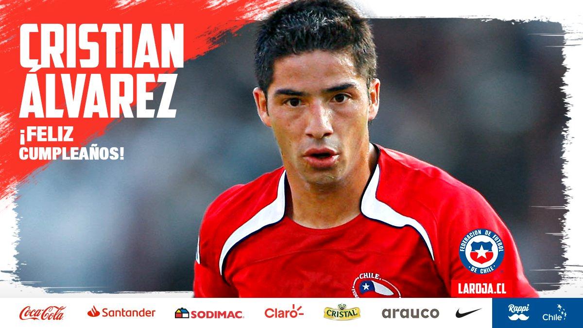 😍 Un mundialista y medallista está de cumpleaños...  Cristián Álvarez  🇨🇱 24 partidos 🌍 Copa del Mundo Sub 17 Egipto 1997 🥉 Bronce en los Juegos Olímpicos de Sidney 2000  🎂 Feliz Cumpleaños Cristian‼