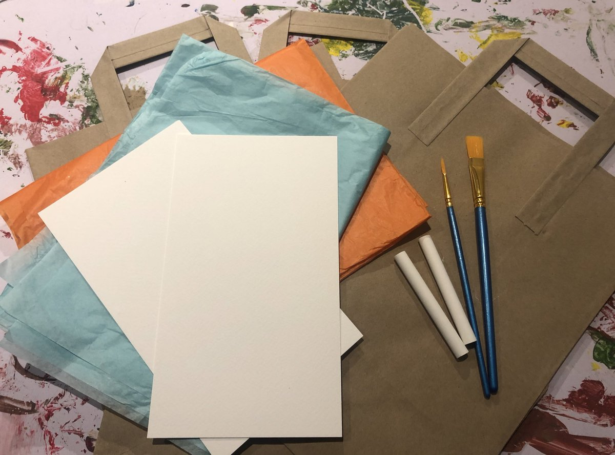 Tomorrow we are delivering our first activity packs of the year to the children from our Hope Gardens project. @bswaid 💖💚  We can't wait to see what they create! 🎨🖌  #create #wednesdaythought (HC)