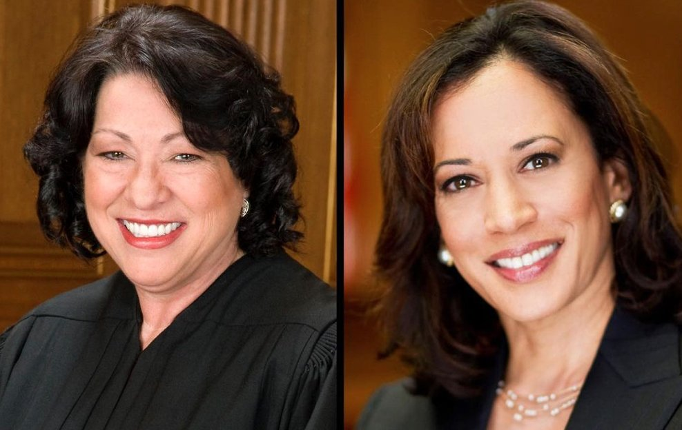 Love to see it: two women of color joining forces to OWN their power.  Sonia Sotomayor, the first Latina Supreme Court Justice, swears in Kamala Harris, the first Black, South-Asian woman to become VP of the US.🇺🇸  We're witnessing #HERstory today.🔥#Inauguration2021 got sazón!🇵🇷