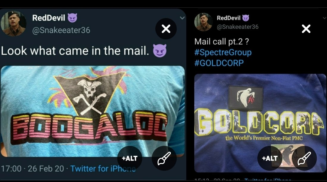 """It's a """"joke"""" till it isn't...  Another bigot trying to obfuscate that #goldcorp aka boogloony 2.0 marked the possible locations of 3rd in line of succession before the largest domestic terrorist attack since Oklahoma City..."""