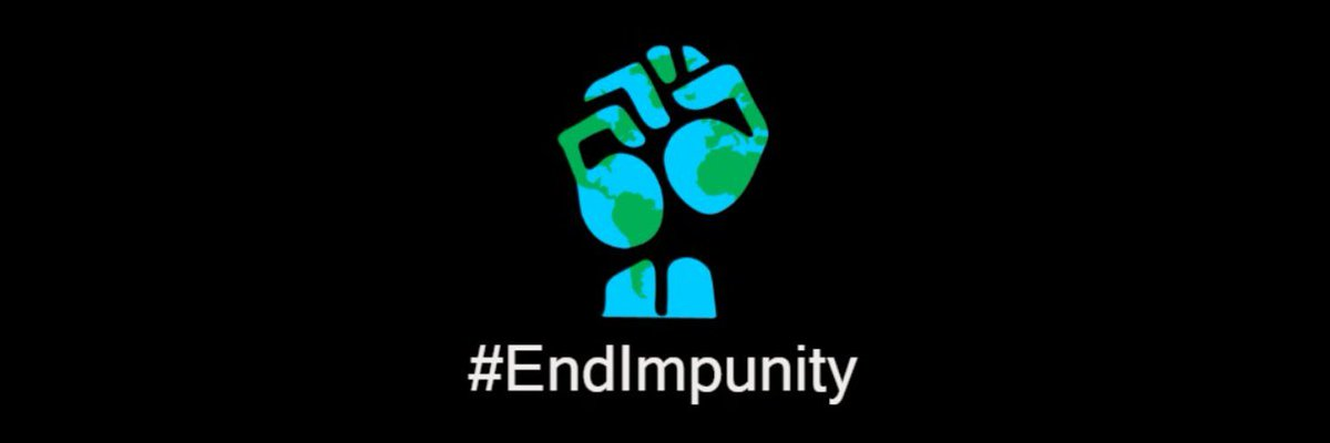 Trump leaving does not mean 'back to normal', if you think that's the case you've learned nothing.  The culture of impunity must end. Politicians, military, and oligarchs need to be held accountable when they breach the law & our trust. No more convenient silence. #endimpunity