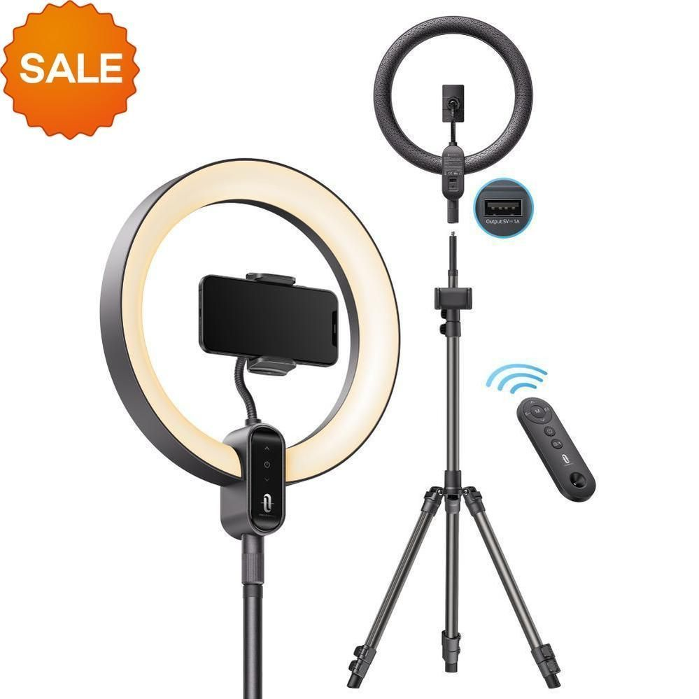 What's the #DailyDeal for today? 😆 $14 OFF 12'' Ring Light with 78'' Tripod Stand - only $74.99, down from $88.99!  https://t.co/j0dr4HCf3Y $33 OFF 4L Ultrasonic Cool Mist Smart WiFi Humidifier - only $36.99, down from $69.99!  https://t.co/2siHMEH1Fr Don't miss out! https://t.co/WmUJ27WGeK