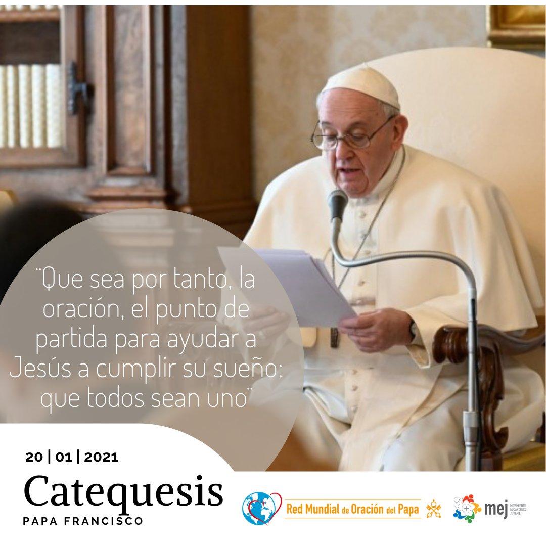 """""""¿Yo rezo por la unidad?"""" (...) El Señor pidió la unidad entre nosotros « para que el mundo crea (Jn 17,21) » @Pontifex_es Catequesis: La oración por la unidad de los cristianos #AudienciaGeneral"""
