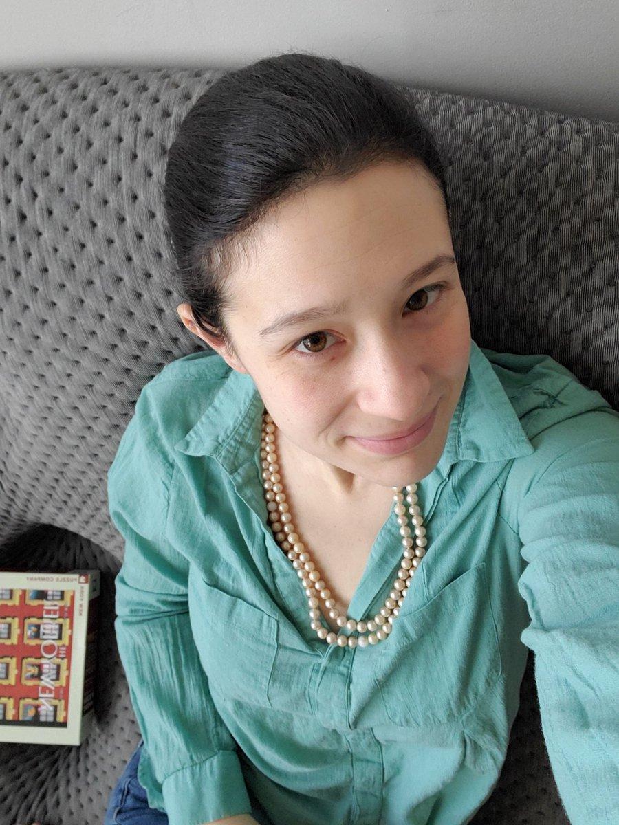 #Pearls on for @KamalaHarris #Pearls4VPKamala #Inauguration2021 #ByeDon