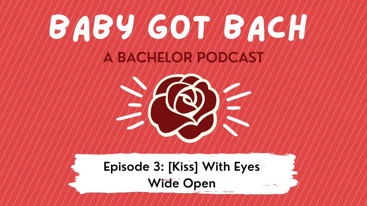 New @BabyGotBachPod is LIVE BABY 🌹 All credit to @Camilalalaa for the amazing title #TheBachelor
