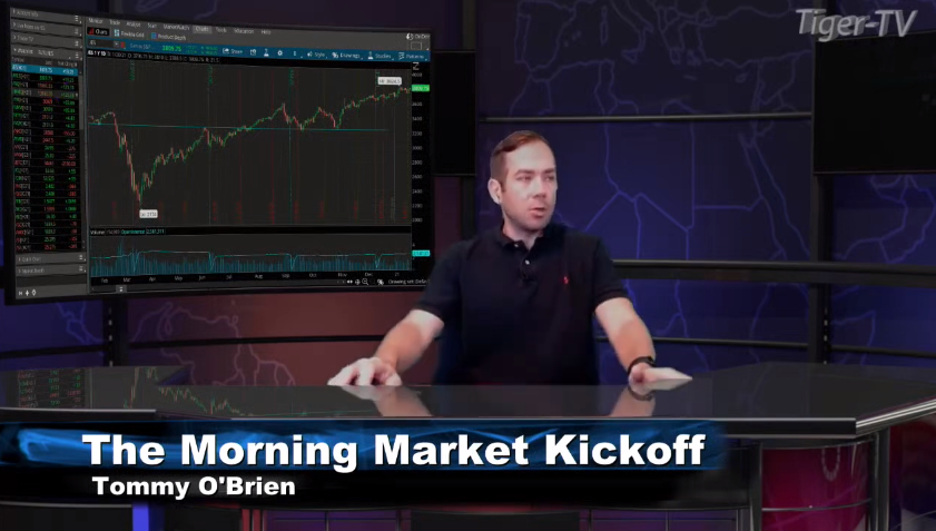 Tommy O'Brien hosts the Morning Market Kickoff for Wednesday on @TFNN and discussed $NQ $ES $YM $SI $BTC $VIX #BidenHarrisInauguration and more! #Learntotrade #StockMarketNews #Financialeducation #WednesdayWisdom #TFNN #StocksToTrade
