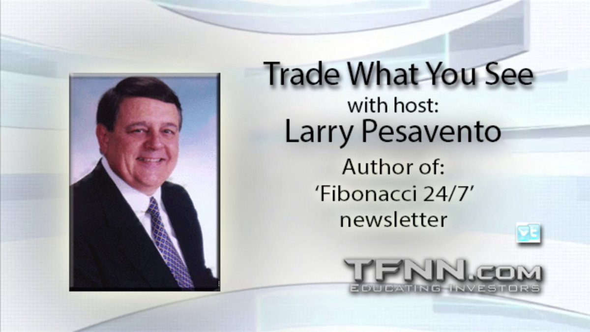 Larry Pesavento hosts Trade What You See for Wednesday on @TFNN and discussed $GBP $JNJ $BABA $GDX $SPX $NG and more! #Learntotrade #TFNN #Fibonacci #StocksToTrade #StockMarketNews #WednesdayWisdom #financialeducation #TradingView
