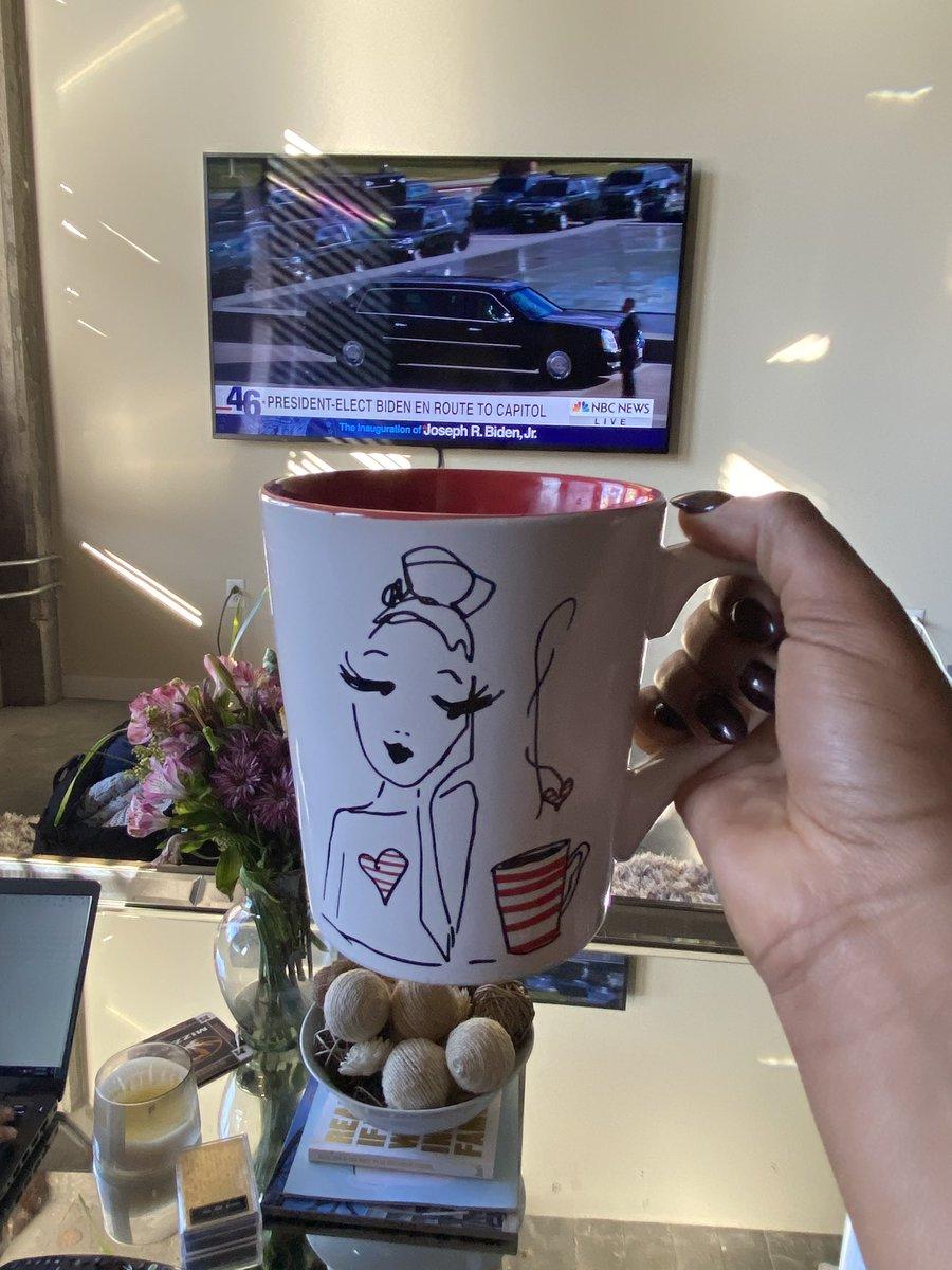 Big day. Bigger coffee.