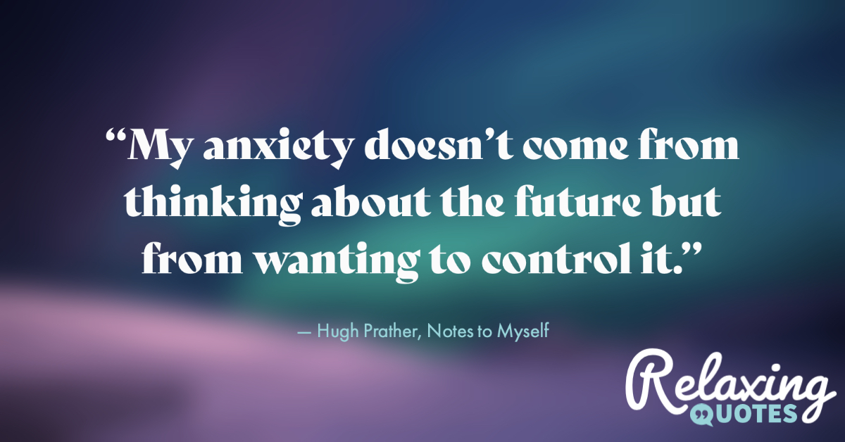 The mind that is anxious about the future is miserable. #RelaxingQuotes