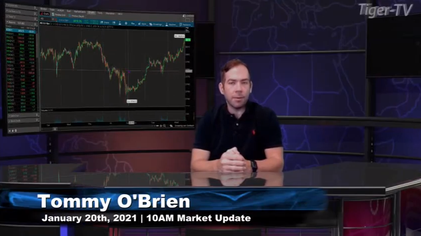Tommy O'Brien hosts the 10AM Market News Update for Wednesday on @TFNN and discussed $ES $NQ $MYM $M2K $GC $NFLX $MSFT $AMZN and more! #Learntotrade #TFNN #StockMarketNews #Financialeducation #WednesdayWisdom #TradingView #RocketEquities