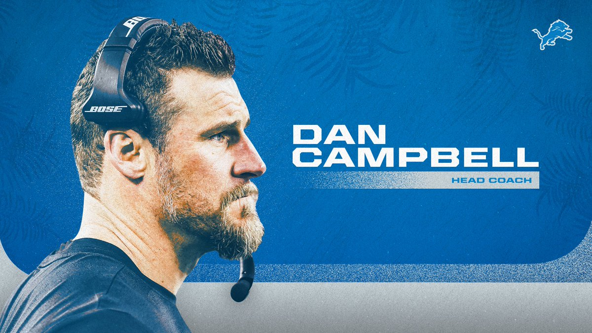 Welcome Dan Campbell❗️   📰   #OnePride