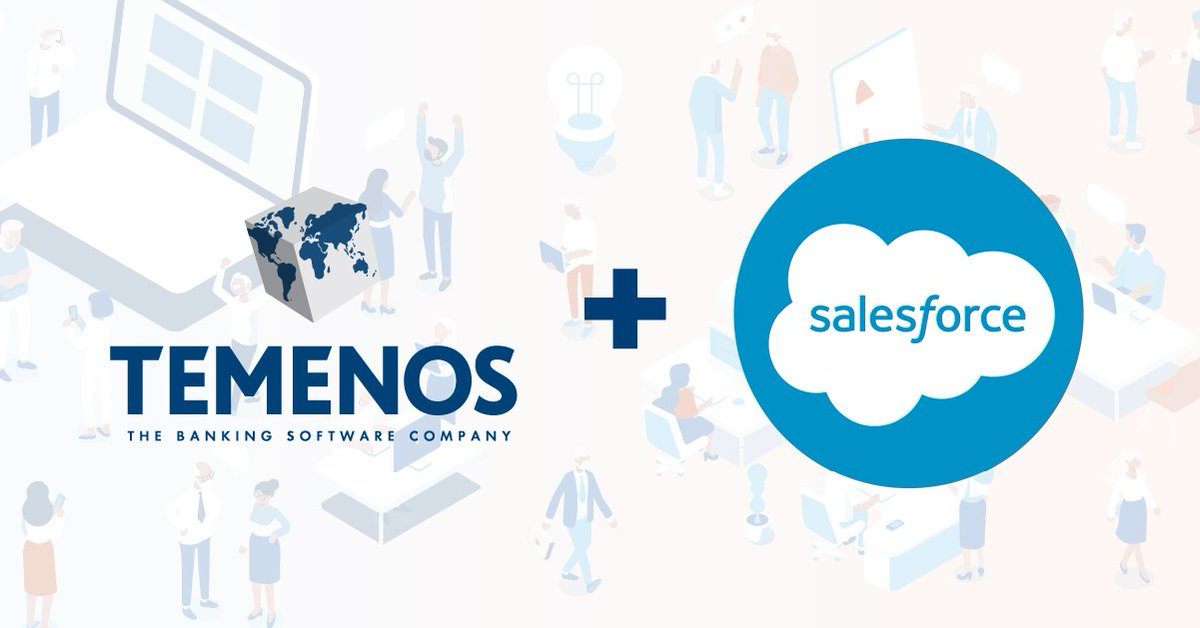Proud to announce a unique partnership between @Salesforce, the world's #1 CRM company and #Temenos, the world's #1 banking software company. Combining Temenos Infinity with Salesforce' Financial Services Cloud solution to deliver a new proposition to the #banking industry. https://t.co/JSqI6enV60