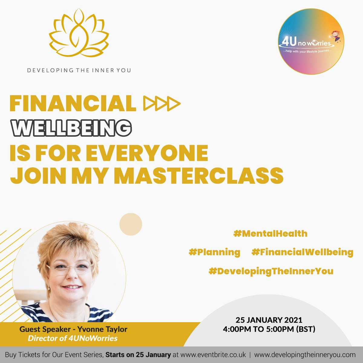 Why not come and join me at this event? Book via Eventbrite .. .. #wellnessmatters #financialplanning #protectionmatters #estateplaning #financialwellness