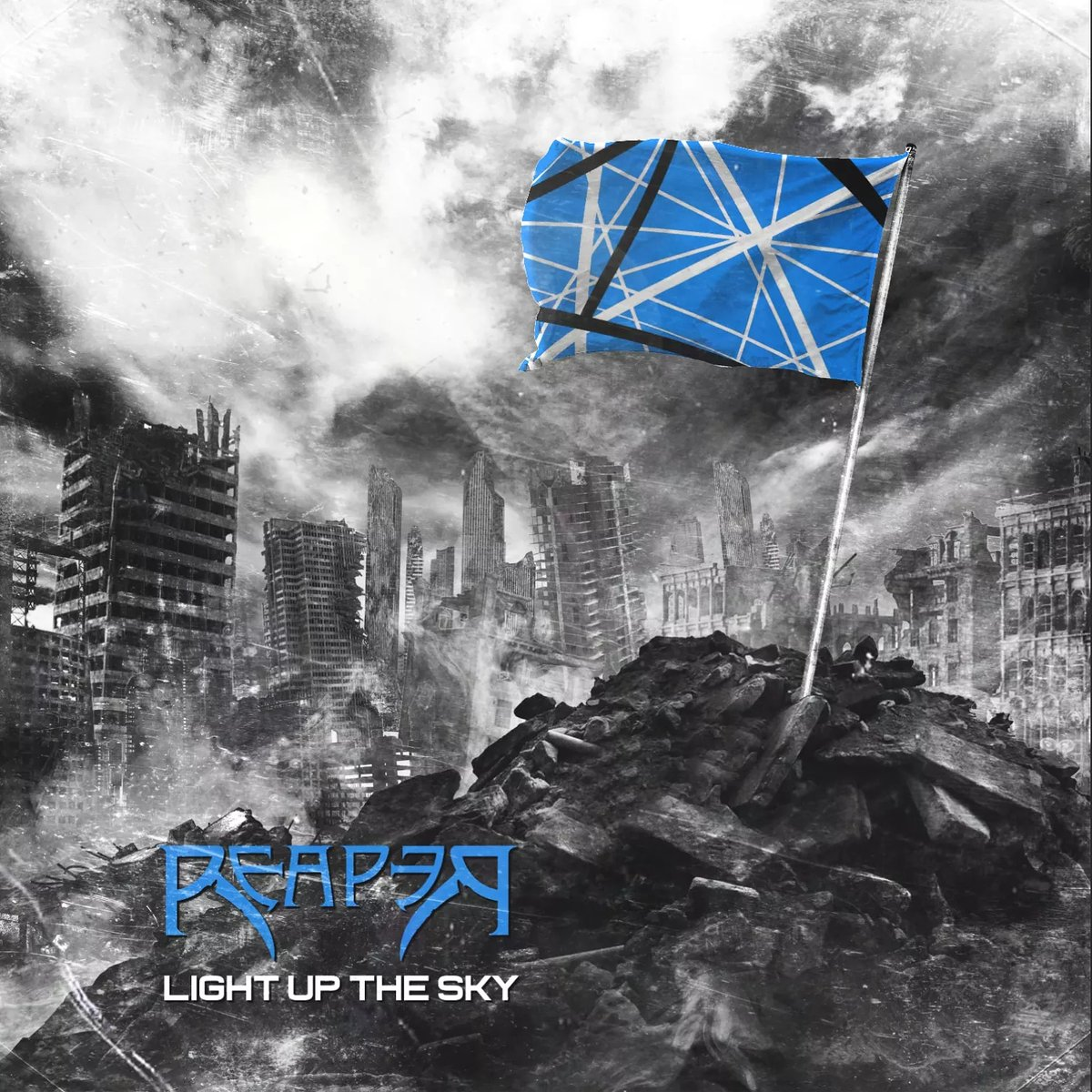 📢LIGHT UP THE SKY COMING 30TH JAN📢   READ THE THREAD BELOW FOR #GIVEAWAY AND #CHARITY INFO  Eddie passing last year was such a colossal loss to rock and metal. His guitar playing was a huge inspiration to our work and this cover is our salutation to the man himself... (1)