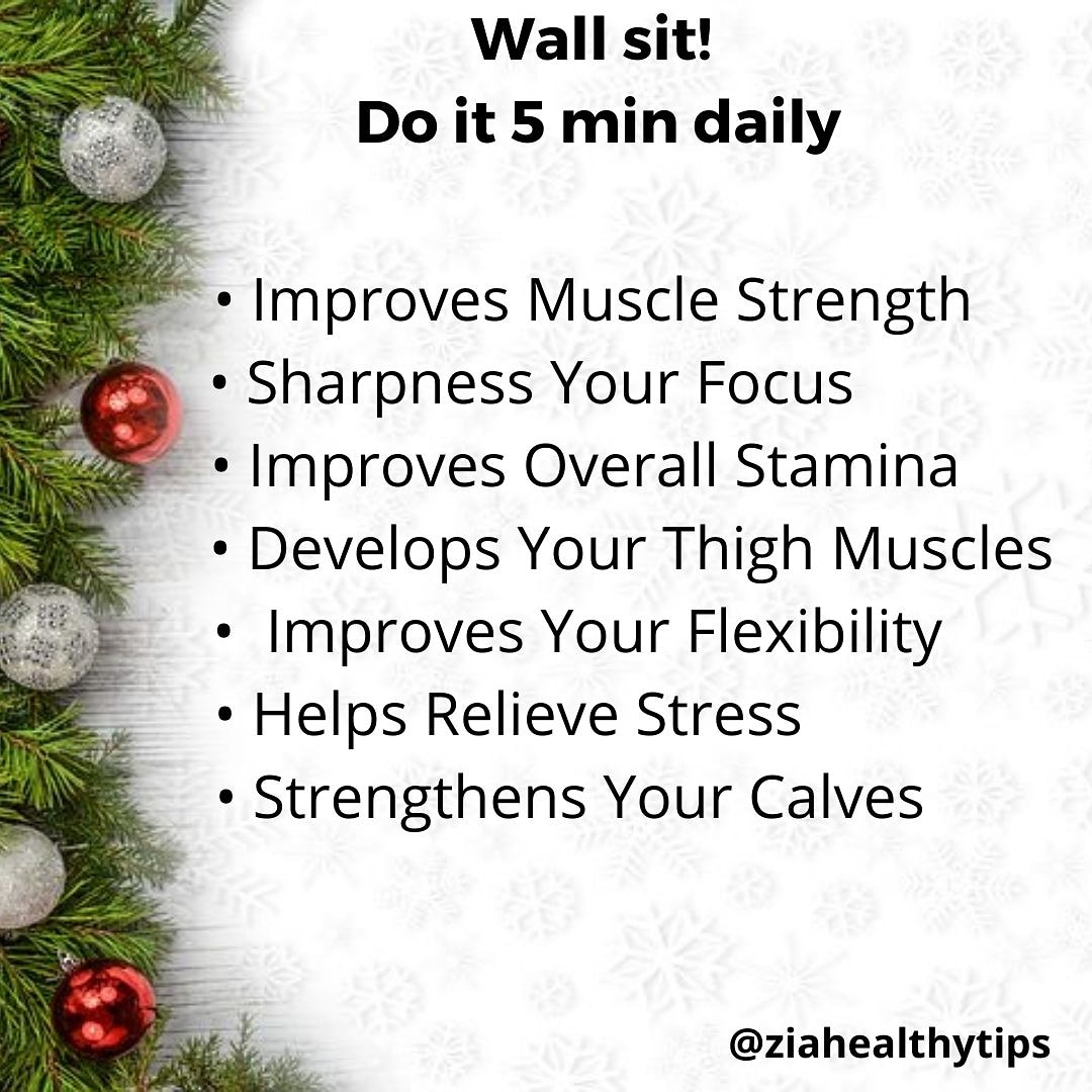 Wall sit Do It 5 Minutes Daily 👈 . . . #healthy #fit #fitness #healthyfood #improve #lifeisgood https://t.co/mzGl8HOHpg