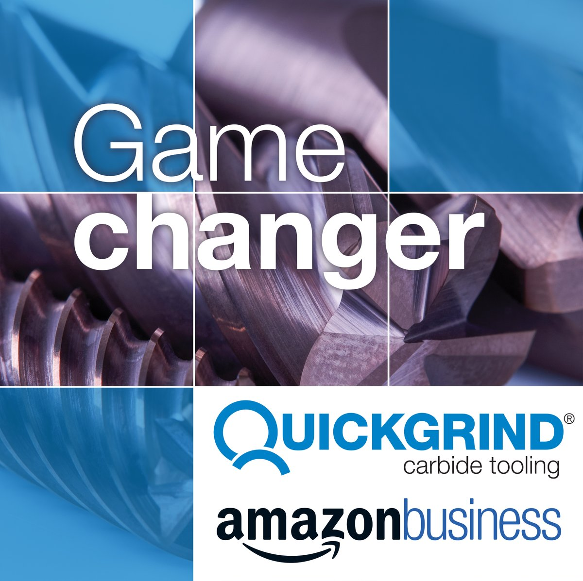 Quickgrind cutting tools will soon be available on Amazon!  From next week, simply visit Amazon and search for 'Quickgrind carbide tooling' to begin your tool buying revolution.  #quickgrind #amazonbusiness #gamechanger #infinitepossibilities