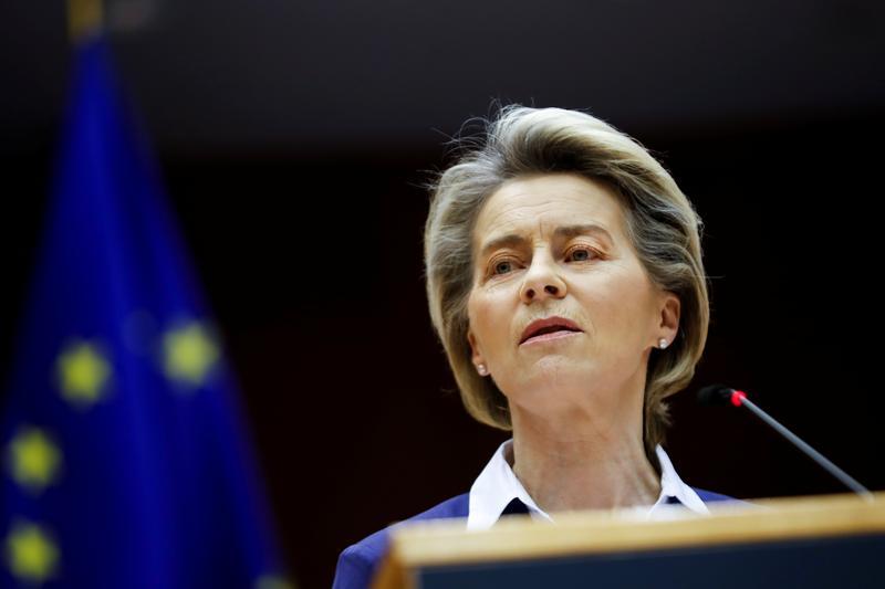 Blanket border closures makes no sense in pandemic: EU's von der Leyen