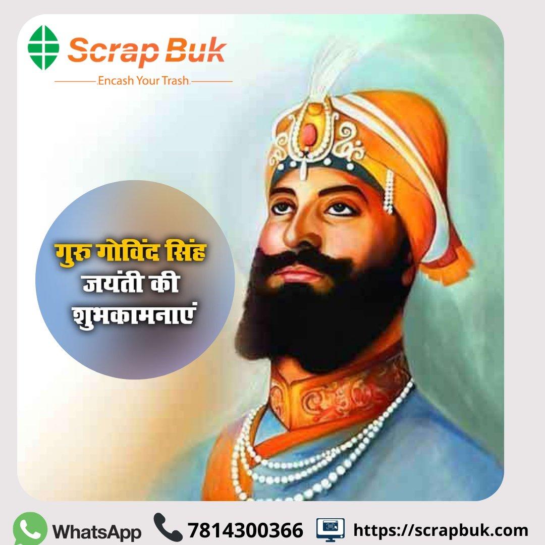 May his blessings be with you in whatever you do!  #scrapbuk #guru #gurugobindsinghji #gobind #sikh #sikhism #festivevibes #festivevibes #festiveseason #blessed #blessings #india #indian #chandigarh #panchkula #chandigarh #punjab #punjabi #tricity #desi #गुरुगोविंदसिंह #खालसापंथ