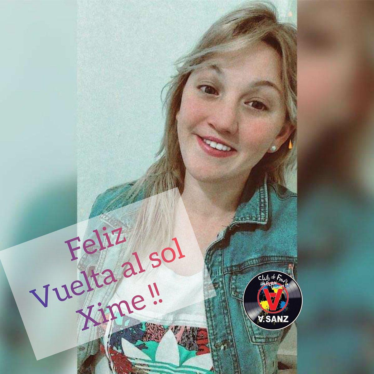 Hoy es el cumpleaños de nuestra @ximebarz !!! Que pases hermoso tu día 😘 #CumpleañoSanzero #SomosLoQueSoñamos  #ElMundoFueraLaPelícula #LaGiraUruguay🇺🇾 #elveranoquevivimos  #elmundofuera  #lagira2021   #UruguayDeSanz🇺🇾 #UnBesoEnMadrid #LiveStreamASanz  @AlejandroSanz