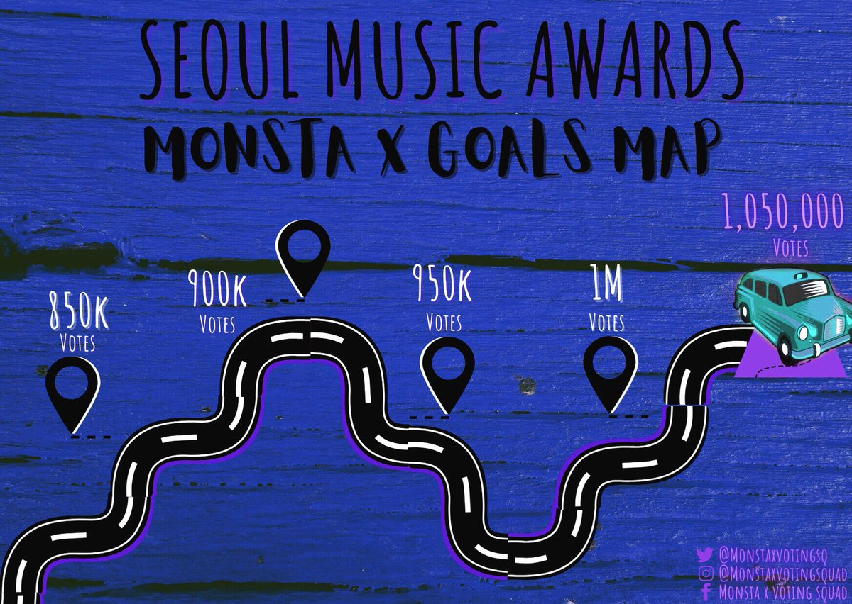✧» Monsta Truck reached it's first destination «✧  🗺Next Map will drops at 12am ~  Participate in the 10pm M4SS V0TING!  We can get higher! We're not stopping here!💪  @OfficialMonstaX #MONSTAX #몬스타엑스