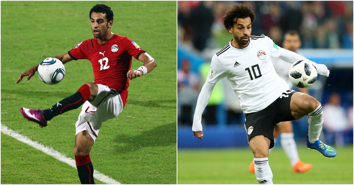 Who would have thought at the 2011 FIFA U-20 World Cup that 19 year old @MoSalah would end up leading the @Pharaohs to its first @FIFAWorldCup in 28 years? 😲  Well pretty much everyone 🤷  But he certainly didn't disappoint 🇪🇬🤩  #TuesdayTransformation