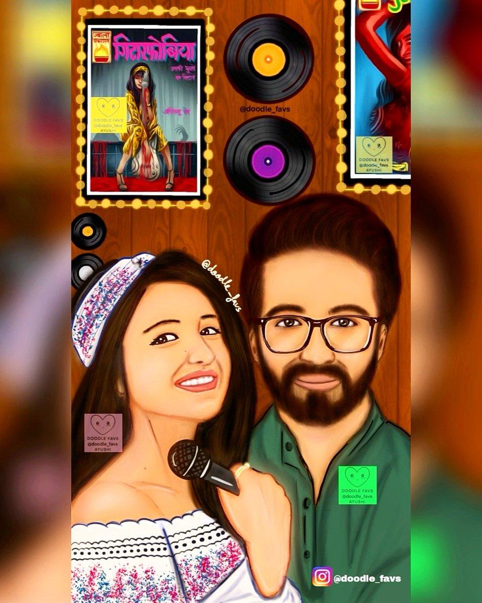 My first bollywood illustration ❤️ @ayushmannk @ParineetiChopra #meripyaaribindu ❤️   #Bollywood #ayushmann @yrf #bollywoodmovies #yrf #ayushmannk #digitalart #DigitalArtist #art #BollywoodCelebrities #akshayroy #bestmovie #actor #film #Fans #ParineetiChopra