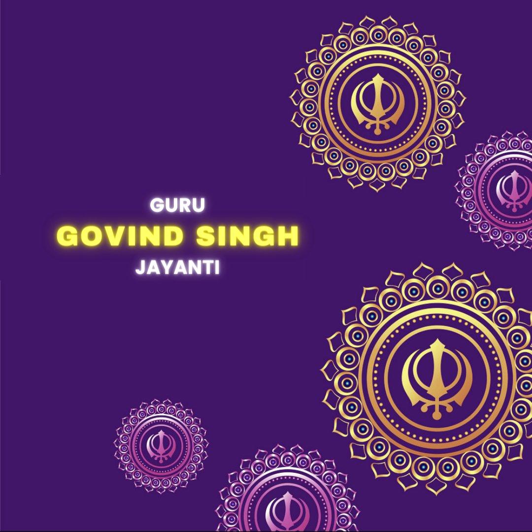 Happy 354th birth anniversary of Guru Gobind Singh Ji!   ਸਤਨਾਮ ਵਾਹਿਗੁਰੂ ਵਾਹਿਗੁਰੂ ਜੀ ਦਾ ਖਾਲਸਾ ਤੇ ਵਾਹਿਗੁਰੂ ਜੀ ਦੀ ਫਤਿਹ ! 🙏  #gurugobindsinghji #GuruGobindSinghJayanti #Guru #gurudwara #Waheguru #punjab https://t.co/5QEHhOjWeD