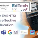 Image for the Tweet beginning: We're continuing our FREE EdTech
