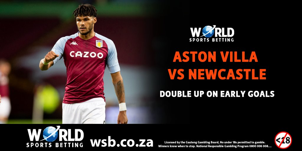 Aston Villa vs Newcastle   Back any team to win and if your selection scores their first goal within 5 minutes of play, we will double your winning in Free Bets!  WSB #PL Soccer   #BetWithWSB