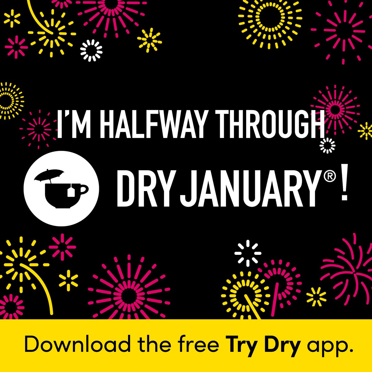 For those who are attempting #DryJanuary, you're over halfway there!! Keep going, you've got this! #DryJanuary2021 #staysafe #recovery