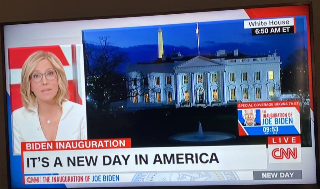 #InaugurationDay CNN coverage. 👌👌👌
