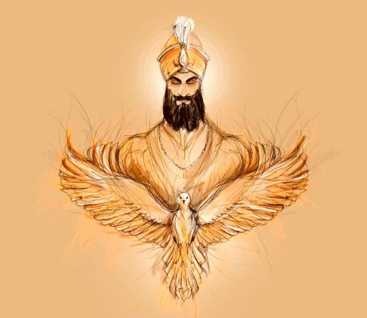 मानस की जात सभौ ईक्को ही पहचानबो ।।  गुरु गोबिंद सिंह जी 🙏🏽   Recognise the whole human race as one.  #gurugobindsinghji   #gurugobindsinghjayanti #खालसा_पंथ   #PrakashPurab 🙏🏽 https://t.co/F01WIl7ZaX
